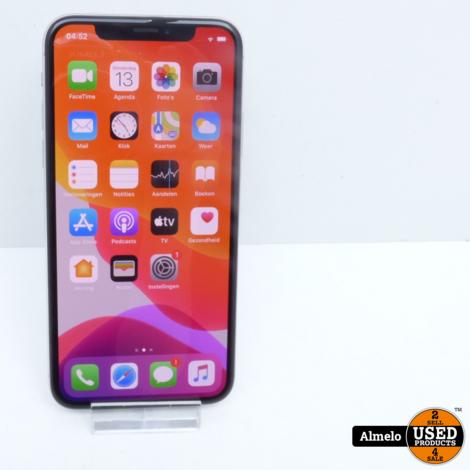 iPhone X 64GB Silver Accu 88%