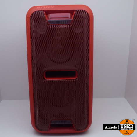 Sony GTK-XB7 - Partybox Rood