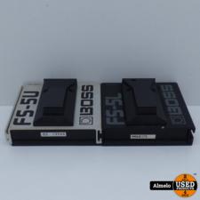 Boss Boss fs-5u en de Boss fs-5L voetpedaal