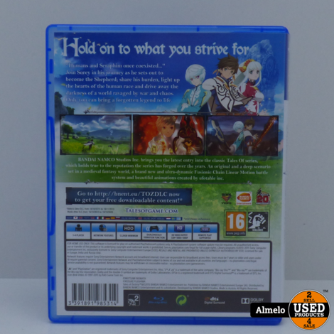 Sony Playstation 4 Tales of Zestiria