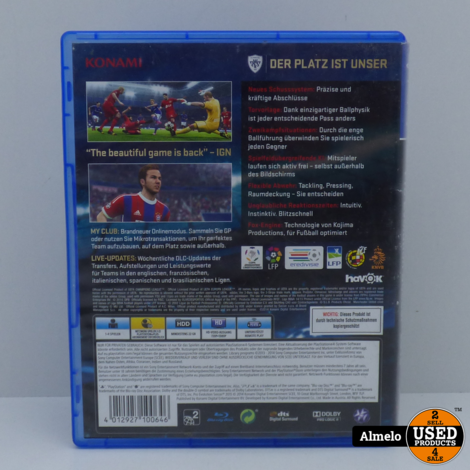 Sony Playstation 4 PES 2015