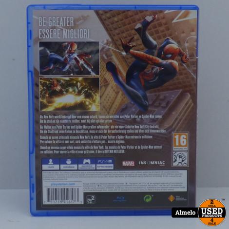 Sony PlayStation 4 Marvel Spider-man