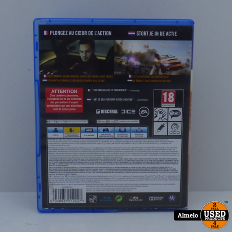 Sony Playstation 4 Battlefield - Hardline
