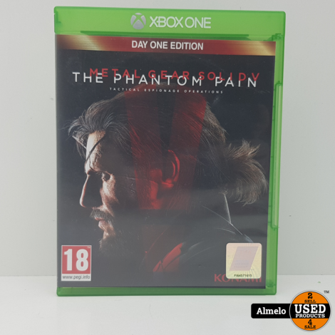 Xbox One Metal Gear Solid V The Phantom Pain - Day One Edition