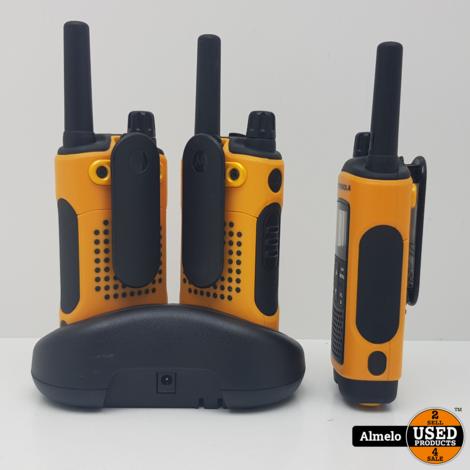 Motorola TLKR T80 Extreme Portofoon Set van 3