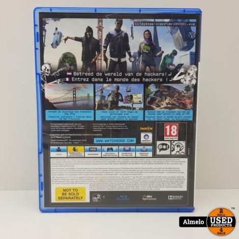 Sony Playstation 4 Watch Dogs 2