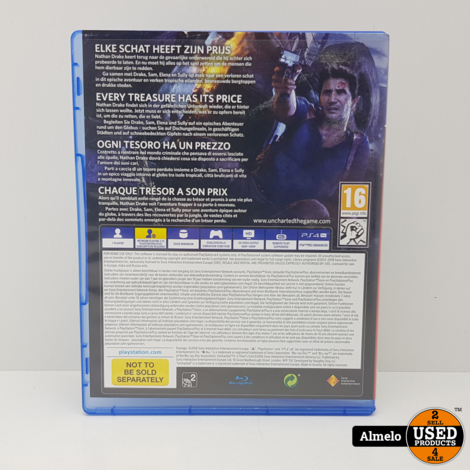 Sony Playstation 4 Uncharted 4 A Thief's End