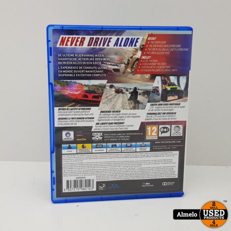 Sony Playstation 4 The Crew Ultimate Edition