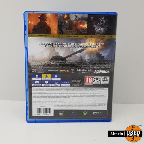 Sony Playstation 4 Call Of Duty WW2