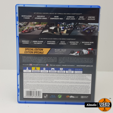 Sony Playstation 4  Formula 1 2017 Special Edition
