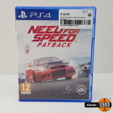 Playstation 4 Sony Playstation 4 Need for Speed Payback