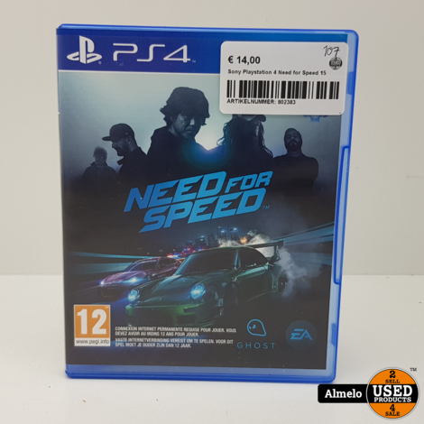 Sony Playstation 4 Need for Speed 15
