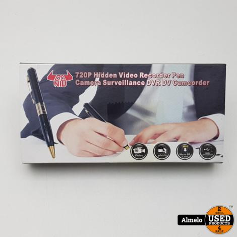 Verborgen video recorder pen 720P