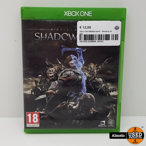 Xbox One Middle-earth - Shadow of War
