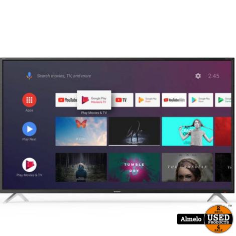 Sharp Aquos 65 inch 4K UltraHD Android Smart LED TV 65BL2EA nieuw 2 jaar