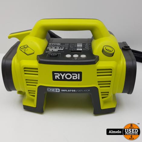 Ryobi OBL1820S Bladblazer, met Ryobi r18i compressor, met 1 accu en acculader