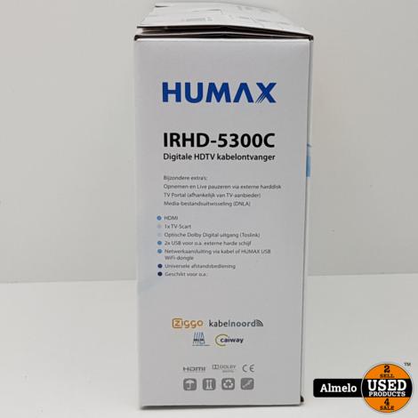 Humax IRHD-5300C/NL Digitale HDTV-kabelontvanger Geseald in doos