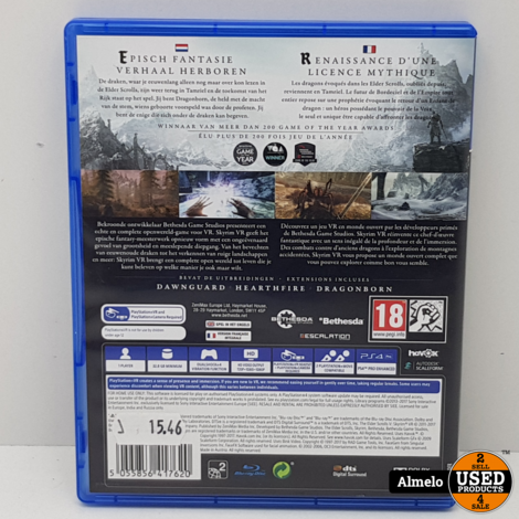 Sony Playstation 4 Skyrim VR