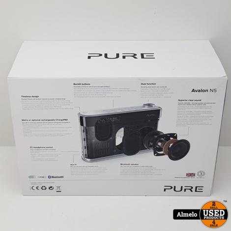 Pure Avalon N5 DAB+/FM Radio met Bluetooth, nieuw in doos