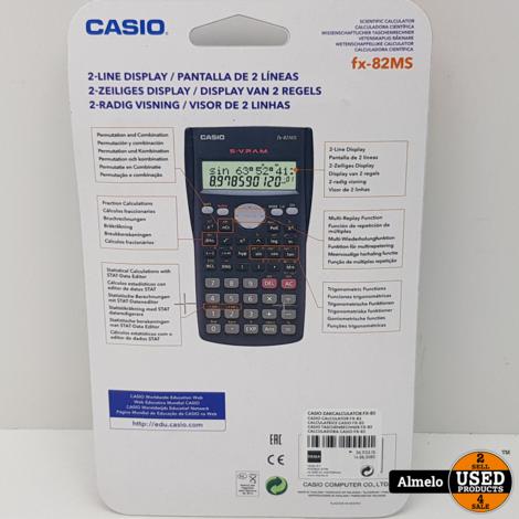 Rekenmachine Casio FX-82MS Nieuw geseald