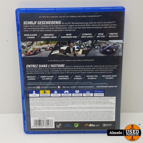 Sony Playstation 4 F1 Formula 1 2017