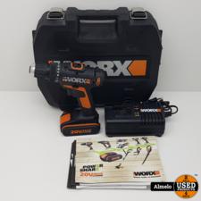 Worx Worx schroefboormachine WX166.4 20V