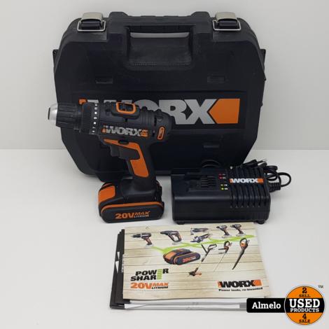 Worx schroefboormachine WX166.4 20V