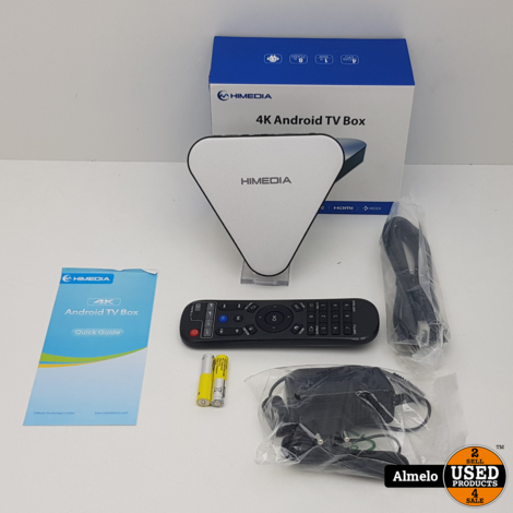 HiMedia H1 4K Android TV Box
