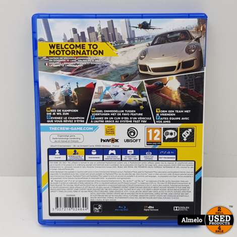 Sony Playstation 4 The Crew 2