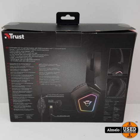 Trust GXT450 7.1 Blizz Illuminated Gaming Headset