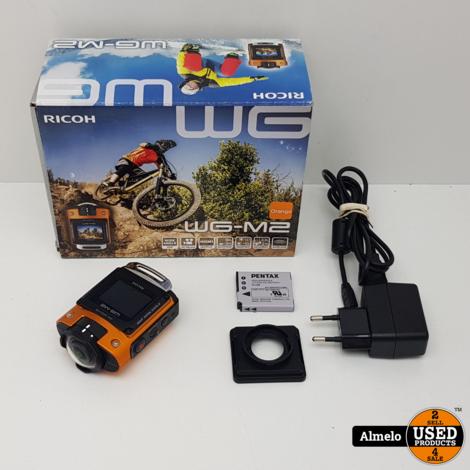 Ricoh WG-M2 Waterproof 4K Action Cam