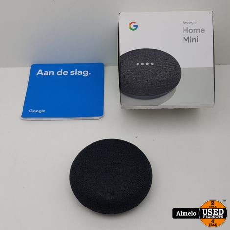 Google Home Mini Zwart