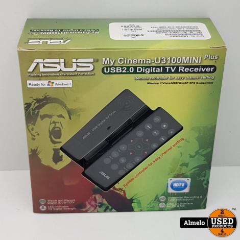 Asus My Cinema-U3100Mini Digital Reciever nieuw in doos