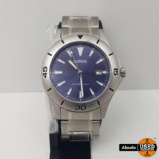 Lorus lorus pc32-x04b Horloge - Heren - Zilverkleurig - Stainless Steel - Ø 40 mm nieuw
