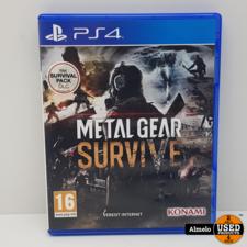 Sony Playstation 4 Sony Playstation 4 Metal Gear Survive