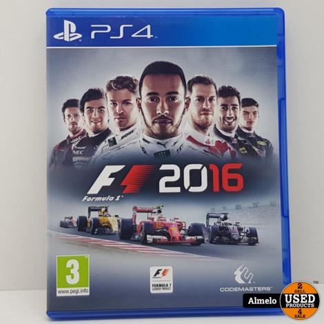 Sony Playstation 4 F1 2016