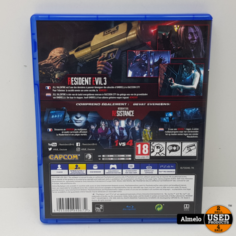 Sony Playstation 4 Resident Evil 3