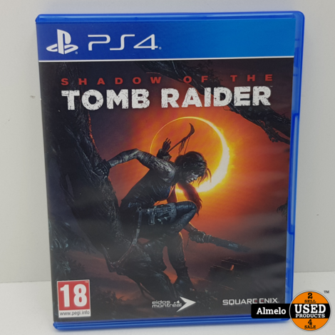 Sony Playstation 4 Shadow of the Tomb Raider
