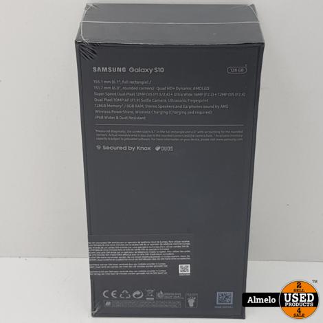 Samsung Galaxy S10 128GB Prism Green Nieuw geseald