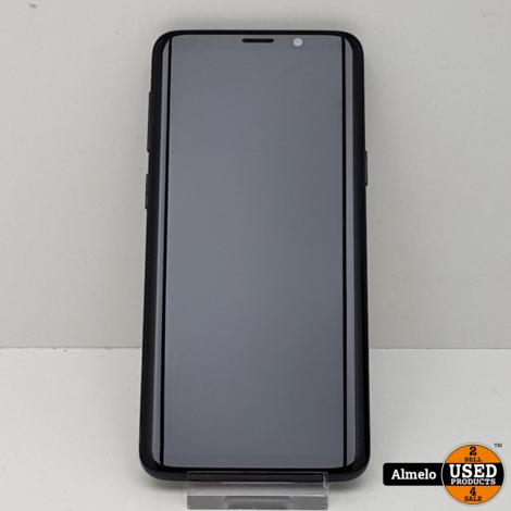 Samsung Galaxy S9 64GB Black in nieuw staat