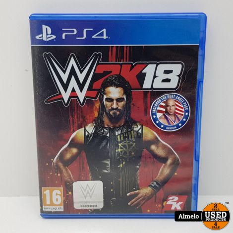 Sony Playstation 4 WWE 2K18