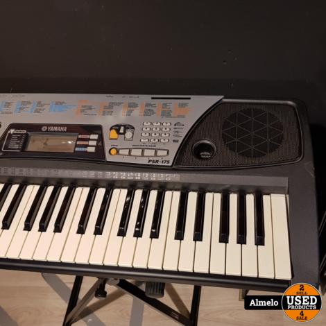 Yamaha psr 175 61-toetsen Keyboard met standaard