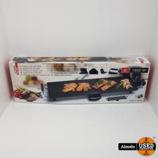 Cuisiner Deluxe Cuisiner Deluxe Grillplaat XL 1800 Watt Grillplaat *nieuw*