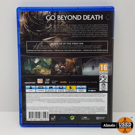 Sony Playstation 4 Dark Souls II - Scholar of the First Sin