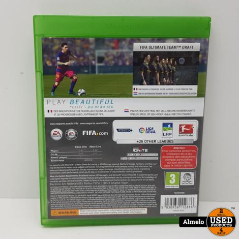Xbox one FIFA 16