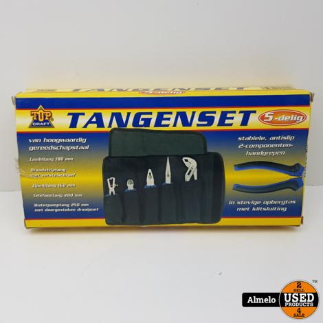 Top-Craft 5 delig tangen-set
