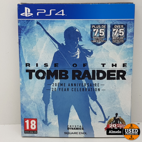 Sony Playstation 4  Rise of the Tomb Raider 20 Year Celebration