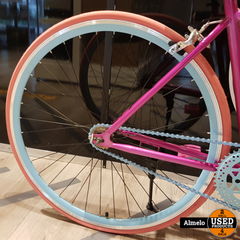 Helliot Soho 06 Fixie Damesfiets 46cm frame *Nieuwe fiets*