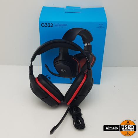 Logitech G332 Wired Gaming Headset met bon 28-04-2020