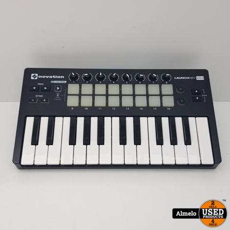 Novation LaunchKey Mini MK2 MIDI Controller Keyboard
